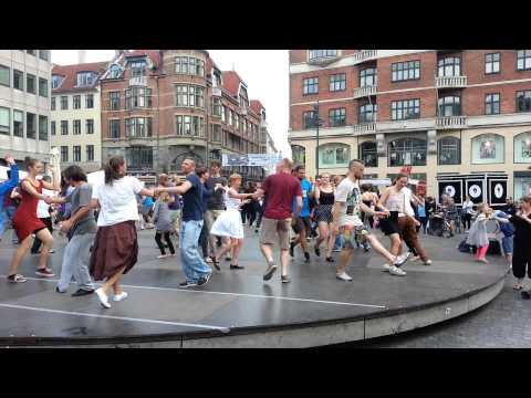 Swing dance at Kultorvet (Copenhagen Jazz Festival 2015)
