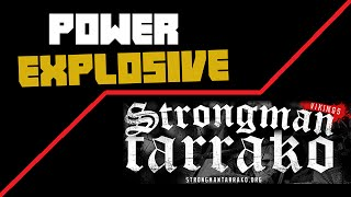 ¡POWEREXPLOSIVE vs STRONGMAN TARRAKO!