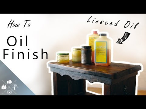 How to Apply a Linseed Oil Finish (Beginners Guide)
