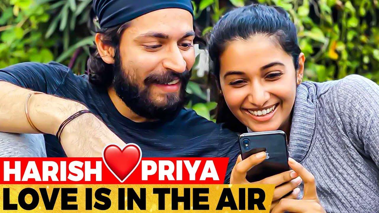 "Download என்னப்பா நடக்குது? Priya Bhavani Shankar, Harish Kalyan Post ❤️ ""Finally Happy for US"""