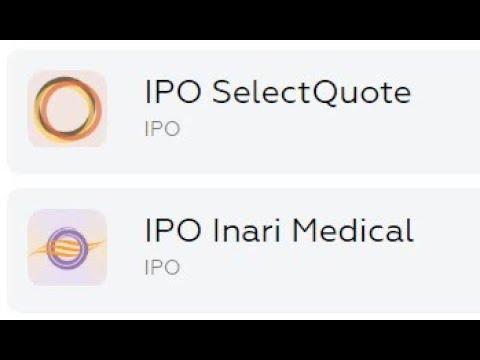 IPO Inari Medical, IPO SelectQuote небольшой обзор+инвестиции