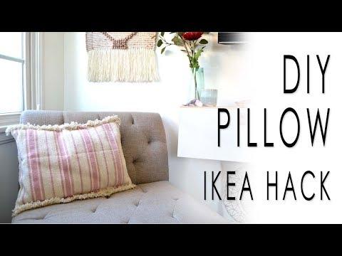 DIY Pillow IKEA HACK