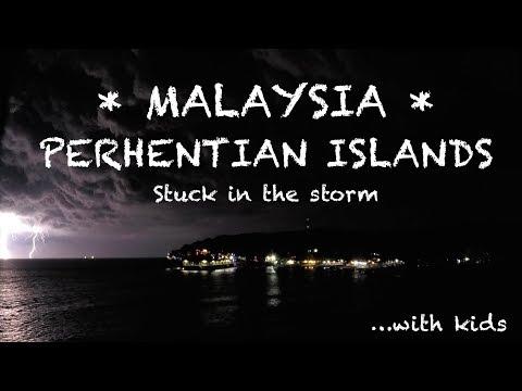 Perhentian Island Stormy Night | Malaysia 2017 | Travel Vlog