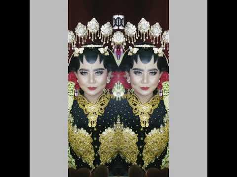 Makeup Pengantin Adat Jawa Sunda Hijab Dan Gaun Duwi Rahayu Part 2