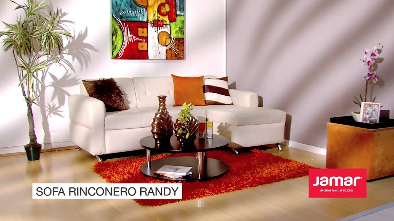 Jamar familias felices 2013 sofa rinconero randy youtube for Mueble jamar