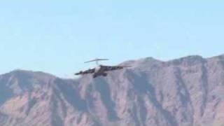 C17 Approach & landing on Tarin Kowt, Afghanistan