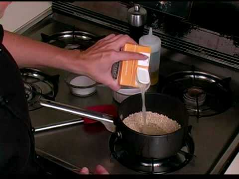 how to prepare and cook barley