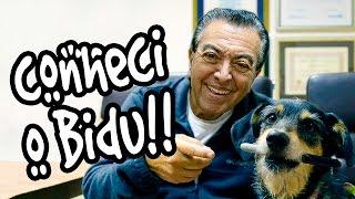 Visitando o Mauricio de Sousa!!!!!!!!!!!