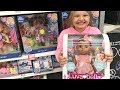 Toy Shopping at Walmart For Dolls LUVABELLA UNBOXING TOYS REVIEW