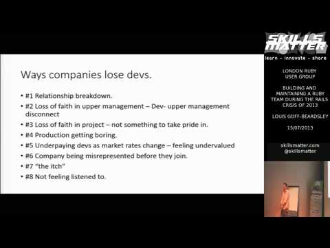 London Ruby on Rails Jobs Market - By LouisRoR