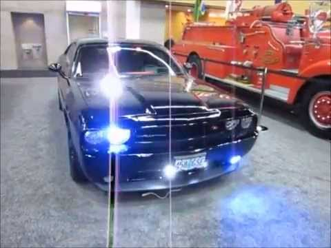 Portland Police Stealth Dodge Challenger at the 2015 Portland International Auto Show