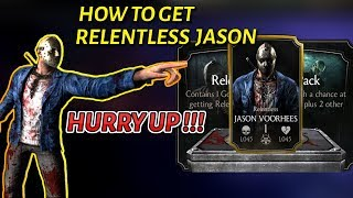 How To Get Slasher Jason Mkx Mobile 2019