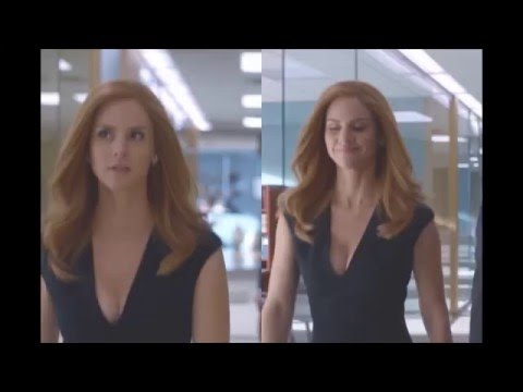 Suits - Donna bumping Boobs 2016 1080