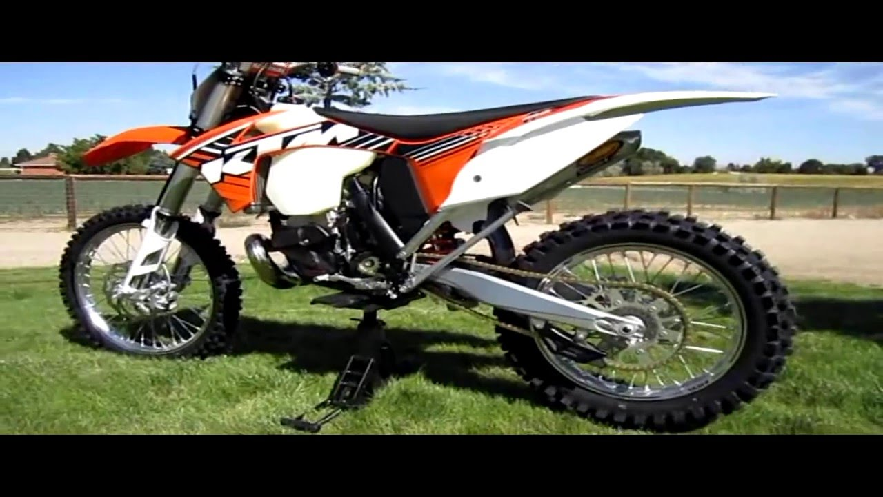 2012 KTM 250 XC   2 Stroke   The Smoking Lamp Is Lit...   YouTube
