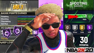 *NEW* NBA 2K20 2X BADGE GLITCH MAX ALL BADGES FAST AND EASY! AFTER PATCH 1.13!PS4 XB1