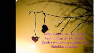 Video Opick - Ku Tak Pernah Layak (Lirik) download MP3, 3GP, MP4, WEBM, AVI, FLV Desember 2017