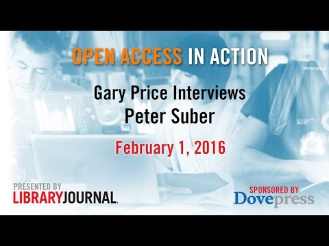 Gary Price and Peter Suber Discuss Open Access