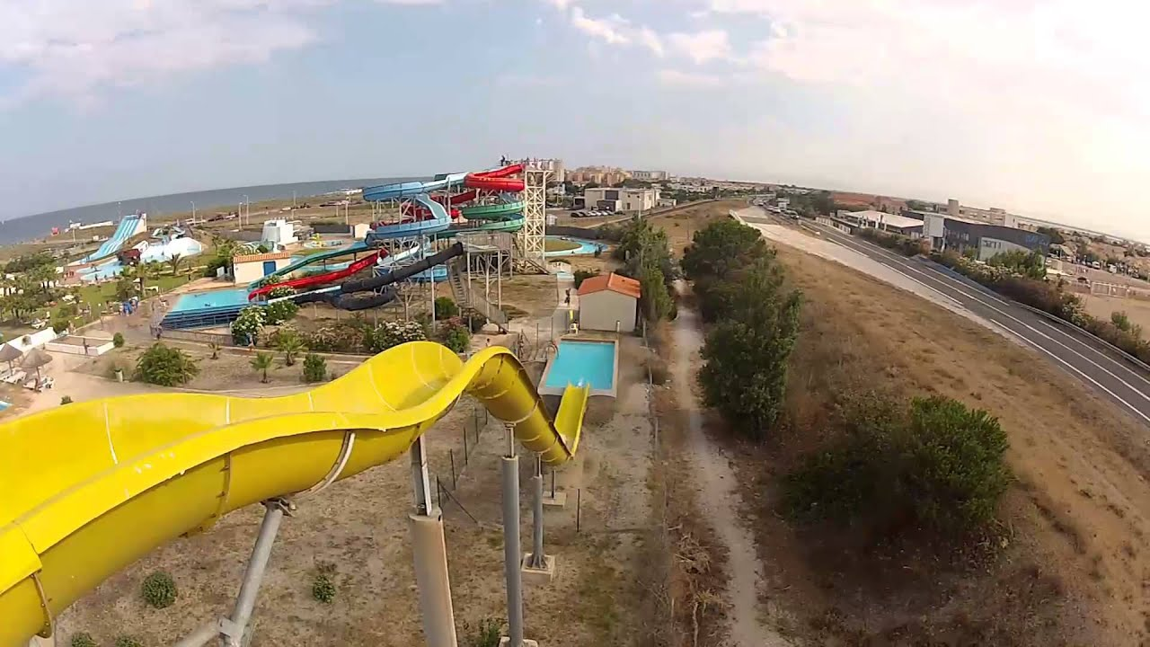 Aqualand Water Park Port Leucate Youtube