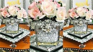 Gorgeous Dollar Tree Easy Home Decor #homedecor #springdecor #dollartree #blingismything