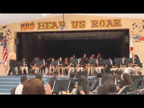 Manatee Middle School Jazz Band (Drama For Your Mama)