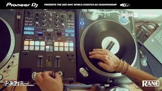 ORDOEUVRE: 2021 DMC World SCRATCH DJ Championship Runner Up