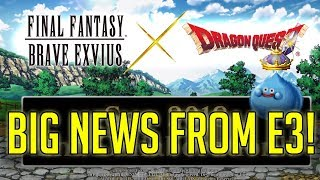 Big Collab News Coming From e3! - [FFBE] Final Fantasy Brave Exvius