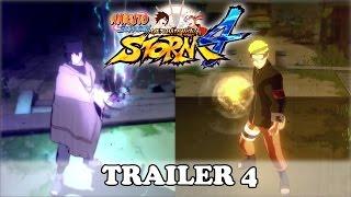 Naruto Shippuden Ultimate Ninja Storm 4 Trailer 4 (OFFICIAL JAPAN EXPO 2015 TRAILER)