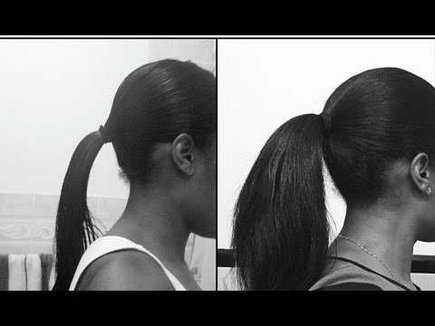 How to grow long black hair naturally at home remedies