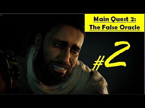 Assassin's Creed Origins - The False Oracle | Find and Kill Medunamun