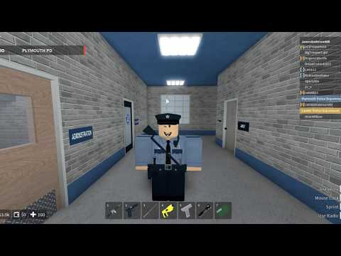 Mayflower | ROBLOX | Plymouth Police Department | Man Hunt!