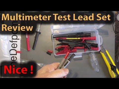 #288 Multimeter Test Lead Set Review