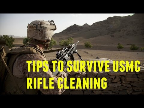 Gun Vlogs #3|  How to Properly Clean Your AR-15 the Marine Corps Way