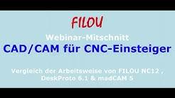 CAD/CAM für CNC-Einsteiger und Hobbyisten - Einführung
