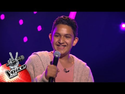 Ricardo - 'How Am I Supposed To Live Without You' | Blind Auditions | The Voice Kids | VTM