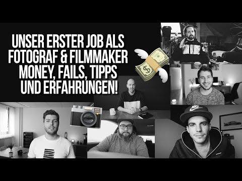 UNSER ERSTER JOB! 📸💰 feat. CameraCave, MiimeCox, DerWeissmantel, ClemensBittner, TobiasGawrisch
