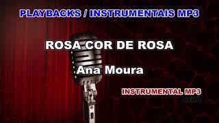 ♬ Playback / Instrumental Mp3 - ROSA COR DE ROSA - Ana Moura