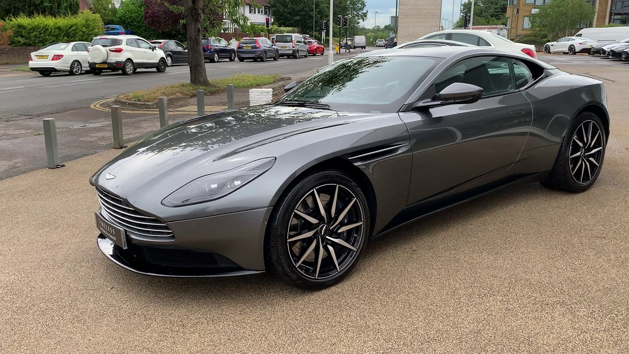 Db11 V8 Coupe In Magnetic Silver Details Youtube