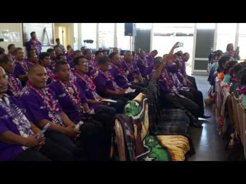 Majuro BMD choir.. 7th National BMD Convention Honolulu Hi 2017