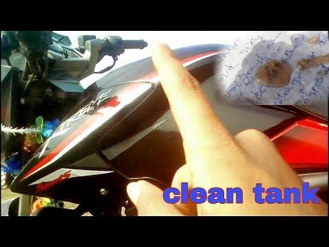Full tank clean in 1 minute water mix petrol in hero xtreme full hd video tank kese clean kare