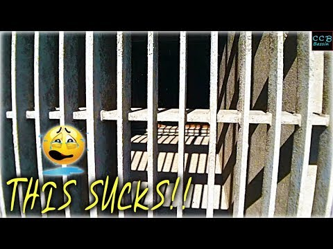 WHEN BASS FISHING FEELS LIKE PRISON!!!!