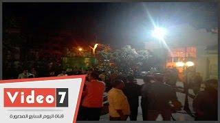 """بالفيديو..اشتباكات بين أنصار السيد البدوى وأعضاء تيار """"إصلاح الوفد"""" داخل مقر الحزب"""