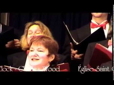 Past 3 O'Clock by Ottawa choir, the Stairwell Carollers