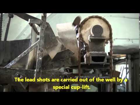 Lead shot production - Daugavpils Shot Factory