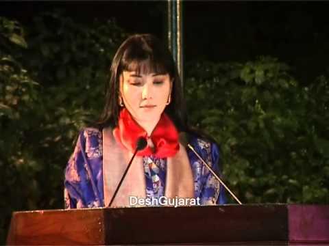Queen Mother of Bhutan speaking at NID
