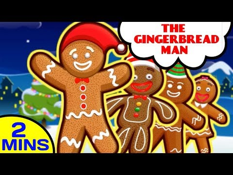 The Gingerbread Man   Song for Kids by Baby Hazel Nursery Rhymes