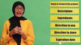 Kelas 9 Bahasa Inggris Food And Medicine Label Video Pendidikan Indonesia Youtube