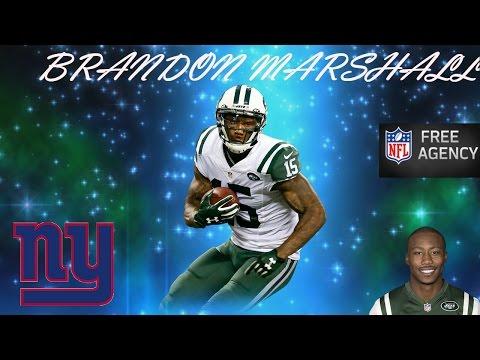Brandon Marshall Career Highlights - 2017 Free Agent