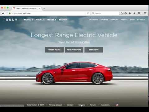 How to work for Tesla- A job Application Walkthrough
