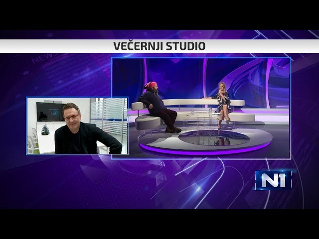 Večernji studio: Gosti Tarik Filipović i Almir Kurt - Kugla