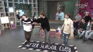 Kevin dancing to GOT7's 'If you do'